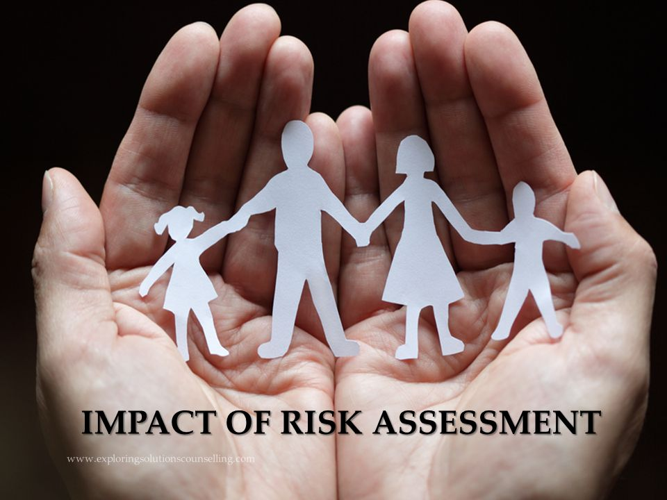 IMPACT OF RISK ASSESSMENT www.exploringsolutionscounselling.com