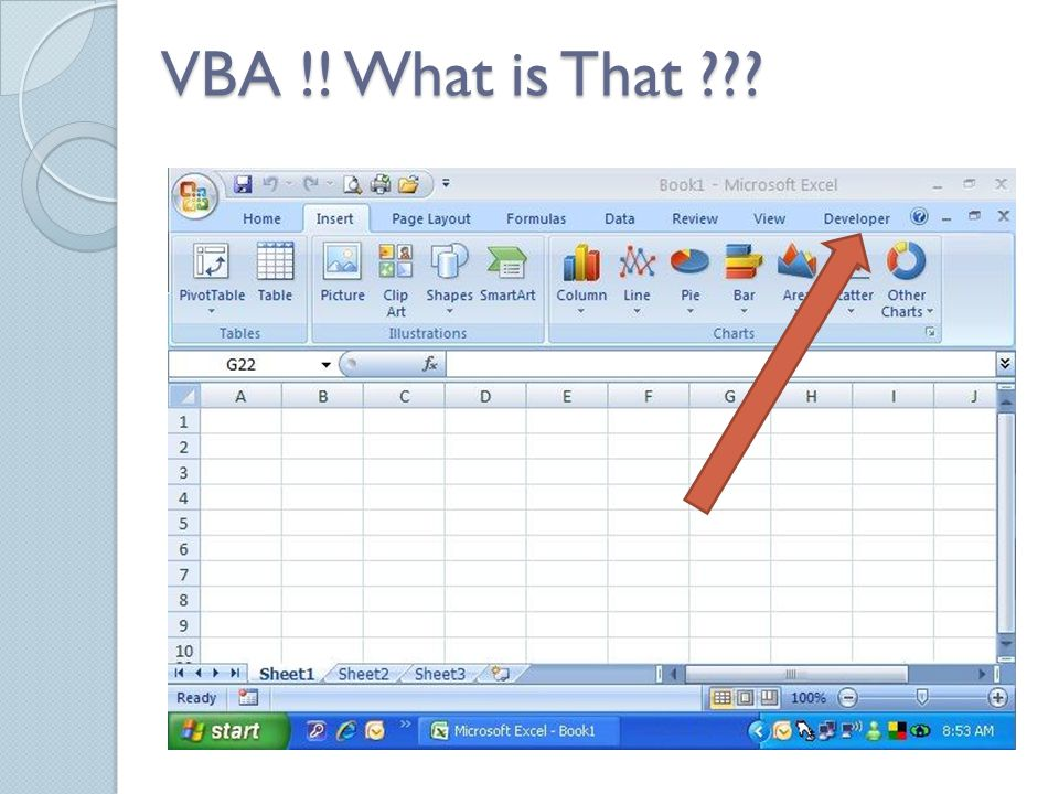 VBA !! What is That ???