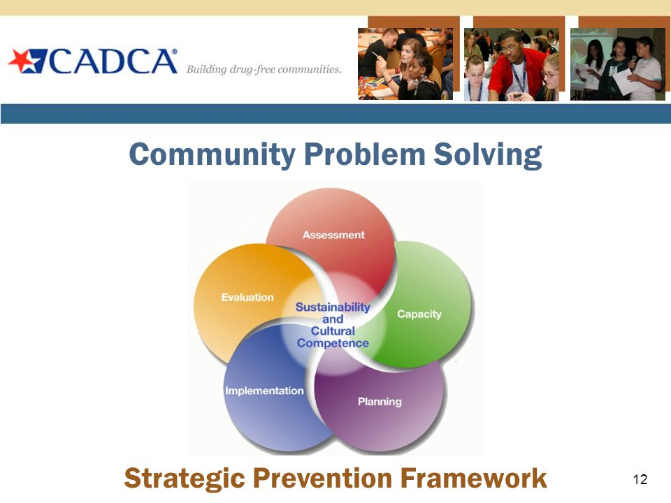 Strategic Prevention Framework Community Problem Solving 12