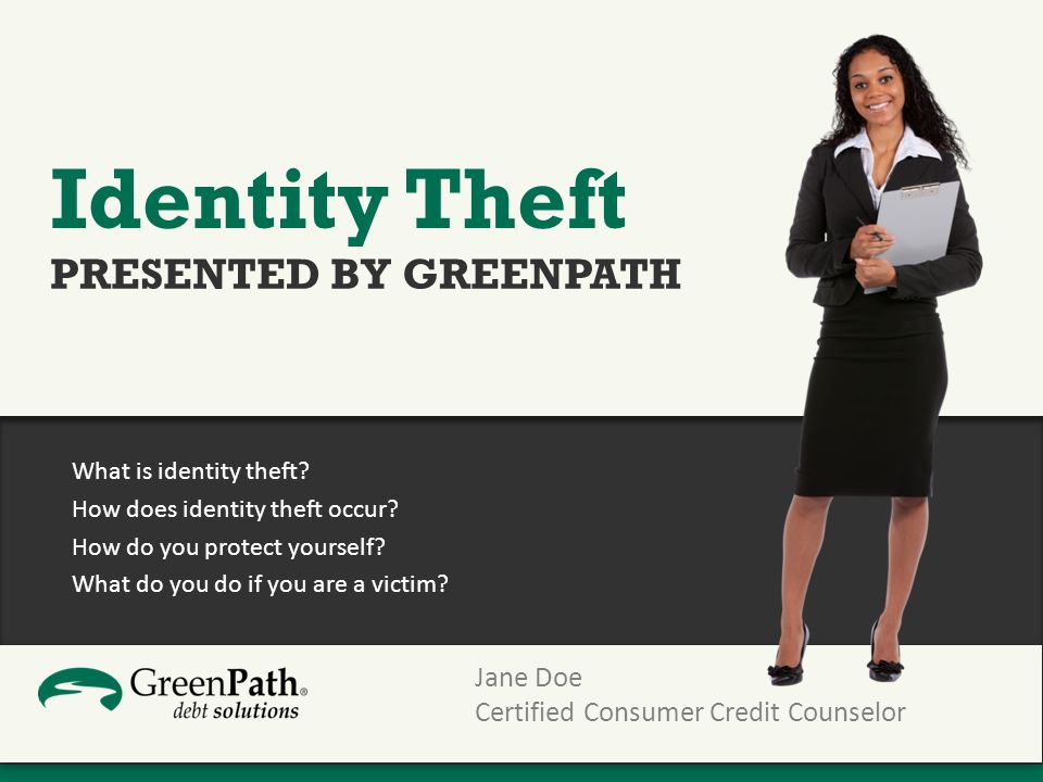 What is identity theft. How does identity theft occur.