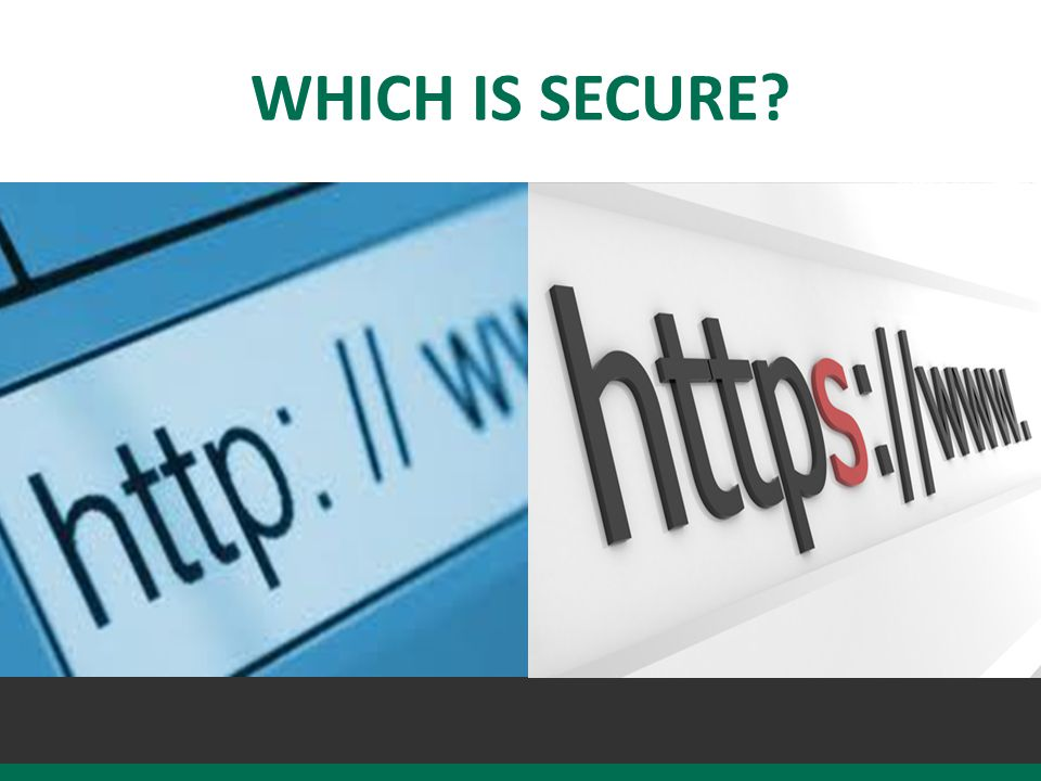 WHICH IS SECURE?