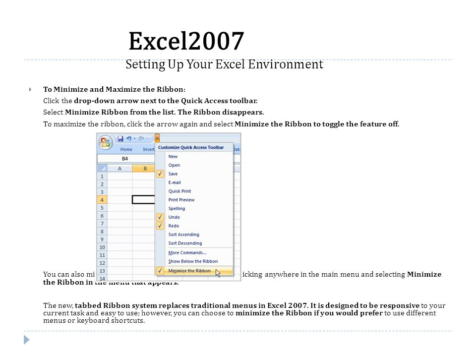 Introduction In Excel, there are many things you can do to prepare your workbook for printing.