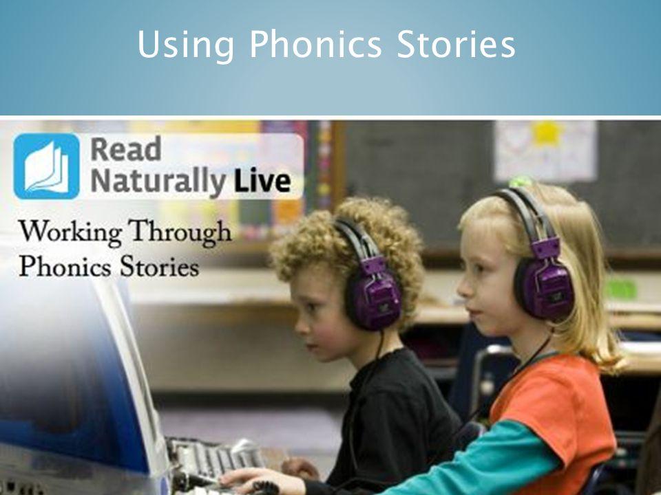 Using Phonics Stories