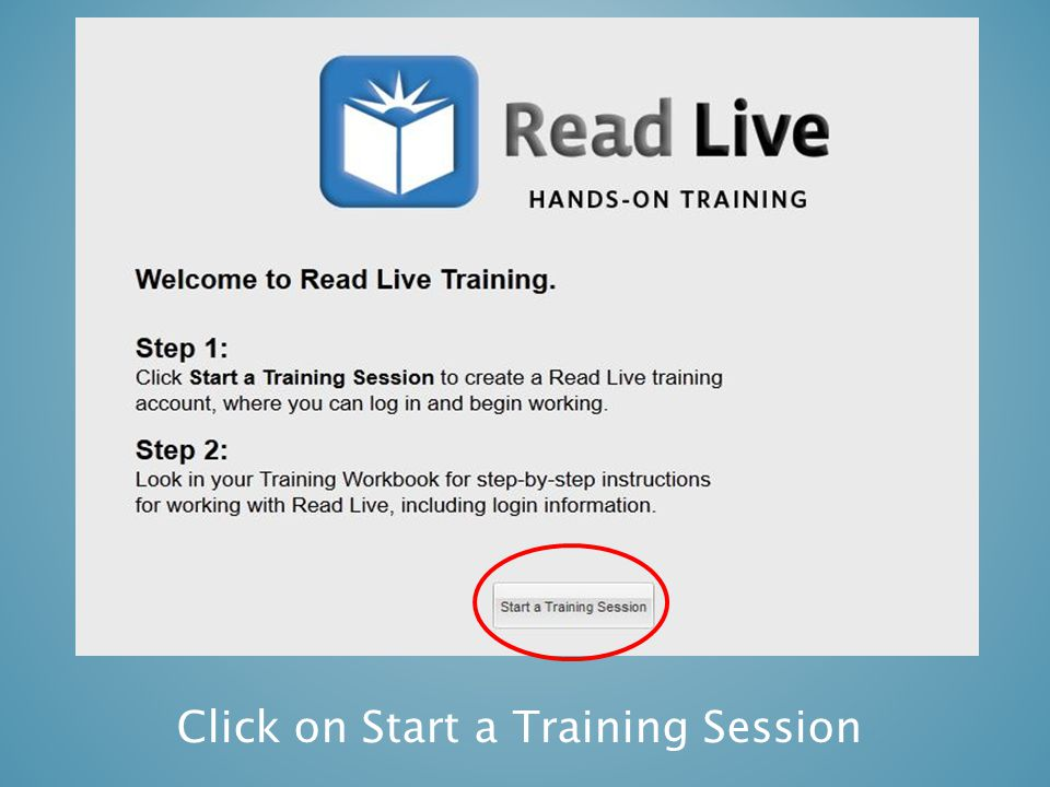 Please open your Read Live Hands-On Training Workbook to page 68 Go to your Demo Login Screen…  Click Conduct Pass Activities in the page heading, right side to move on.
