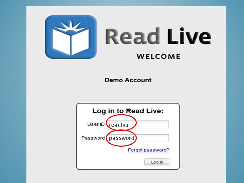 teacher password