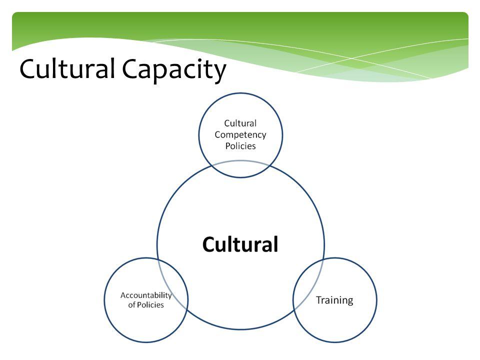 Cultural Capacity