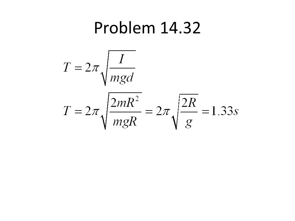 Problem 14.32