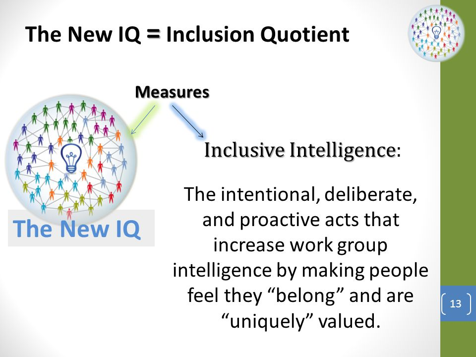 New IQ In with the New and out with the Old… 14