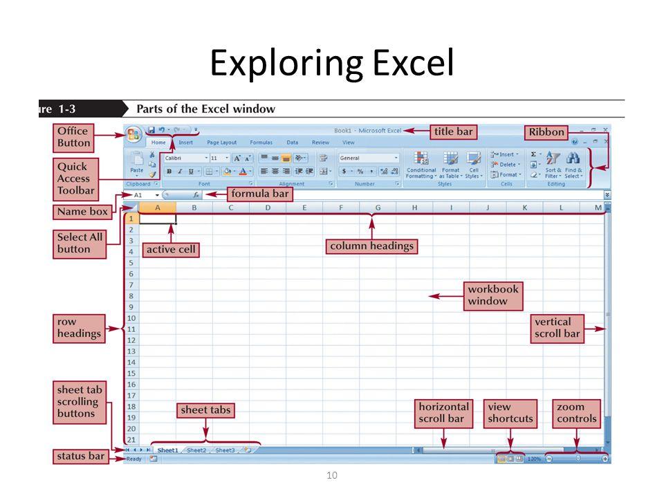 Exploring Excel 10