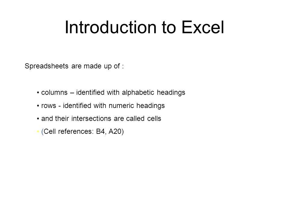 Exploring Excel 15