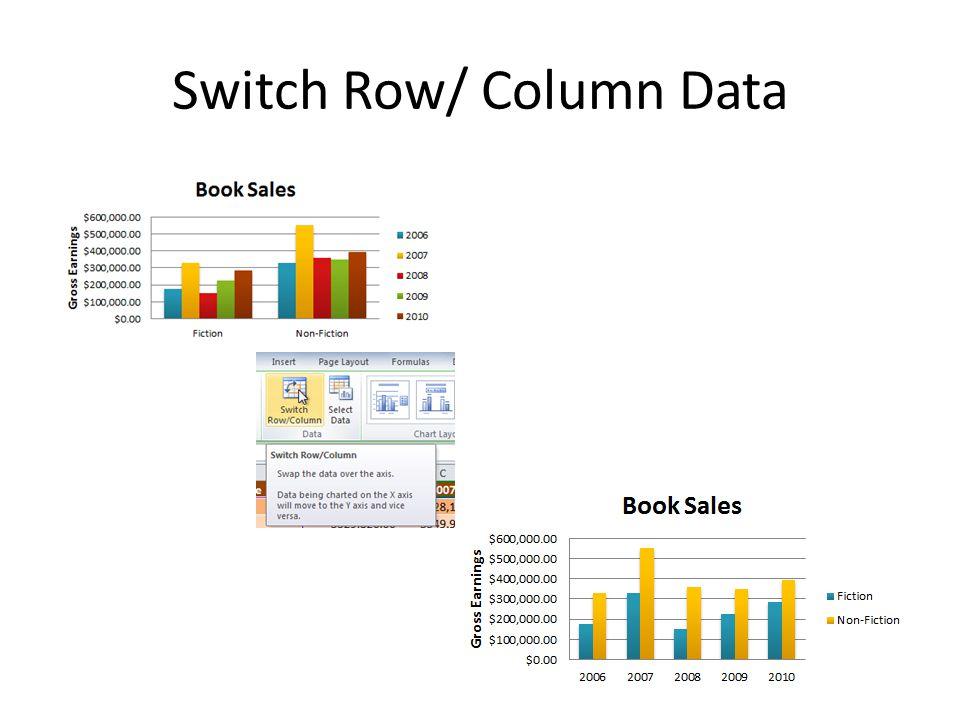 Switch Row/ Column Data