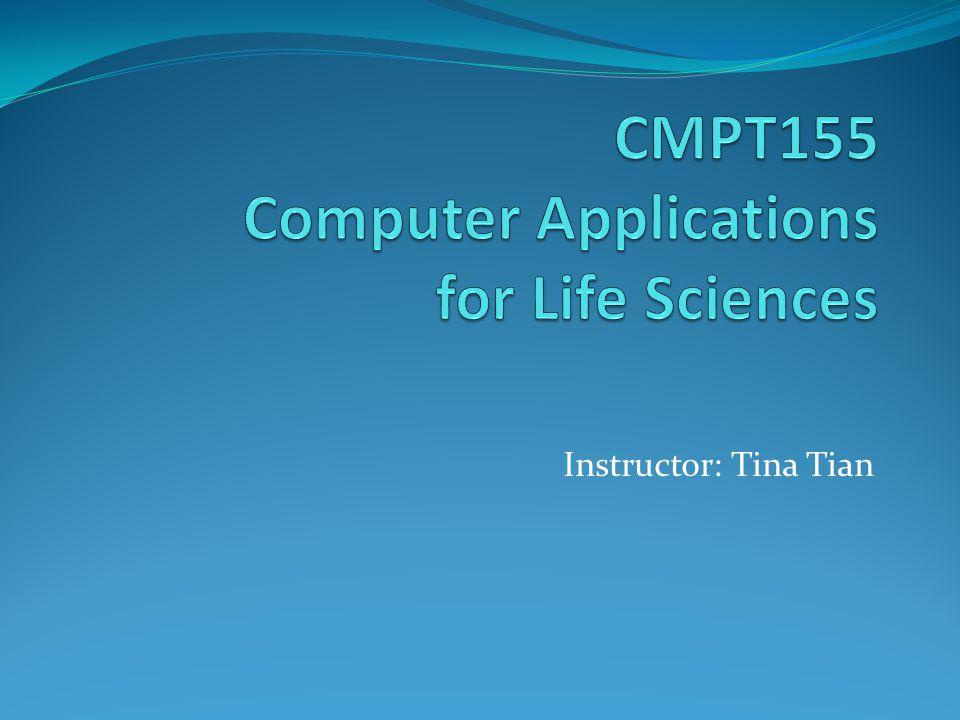 Instructor: Tina Tian