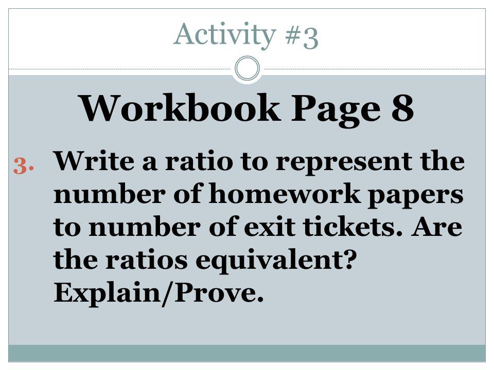 Activity #3 Workbook Page 8 3.