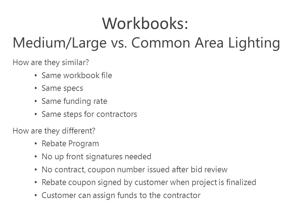 3 Workbooks: How are they similar.