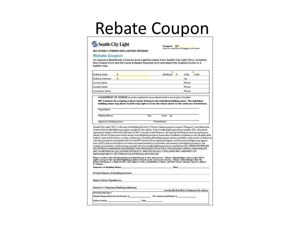 8 Rebate Coupon
