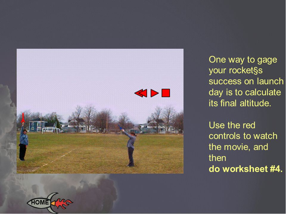 Recovery device (RD) - slows the descent of your rocket, and prevents it from being broken.