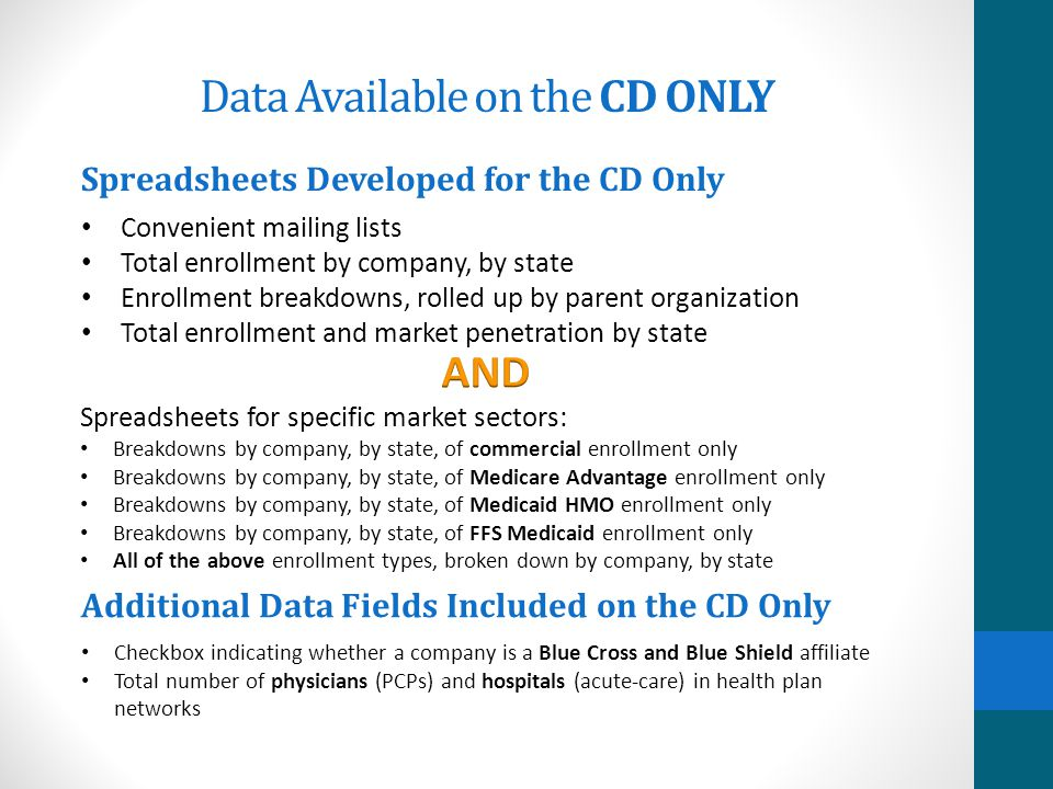 The CD contains everything you or your IT department need to know to link the tables when you import them into any software. Is it Easy to Use the CD?