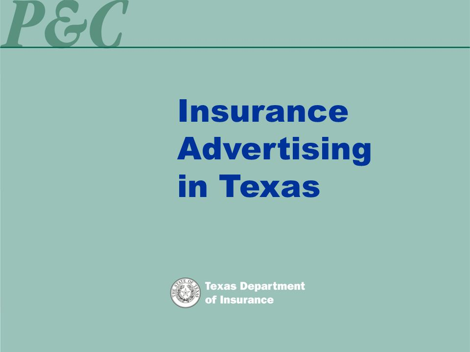 Insurance Advertising in Texas