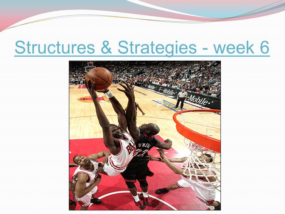 Structures & Strategies - week 6