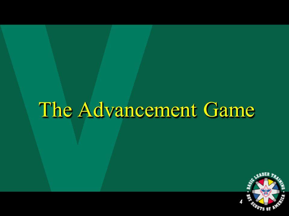 3 Venturing Advancement