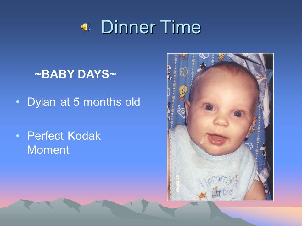 Snapshot of my Web Page Design
