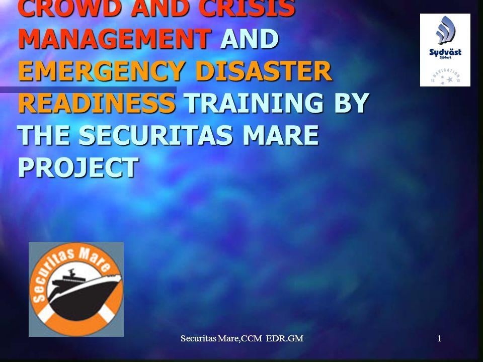 Securitas Mare,CCM EDR.GM12 EDR -BRM IDENTIFY THE PROBLEM IDENTIFY THE PROBLEM MAKE A PLAN MAKE A PLAN OPTIMISE YOUR RESOURCES OPTIMISE YOUR RESOURCES START ACTION START ACTION MONITOR PROGRESS MONITOR PROGRESS MODIFY IF NEEDED MODIFY IF NEEDED WORKING SEQUENSE