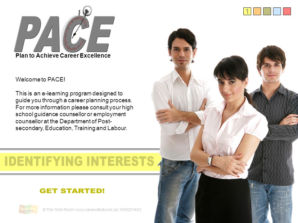 1 Plan to Achieve Career Excellence Welcome to PACE.