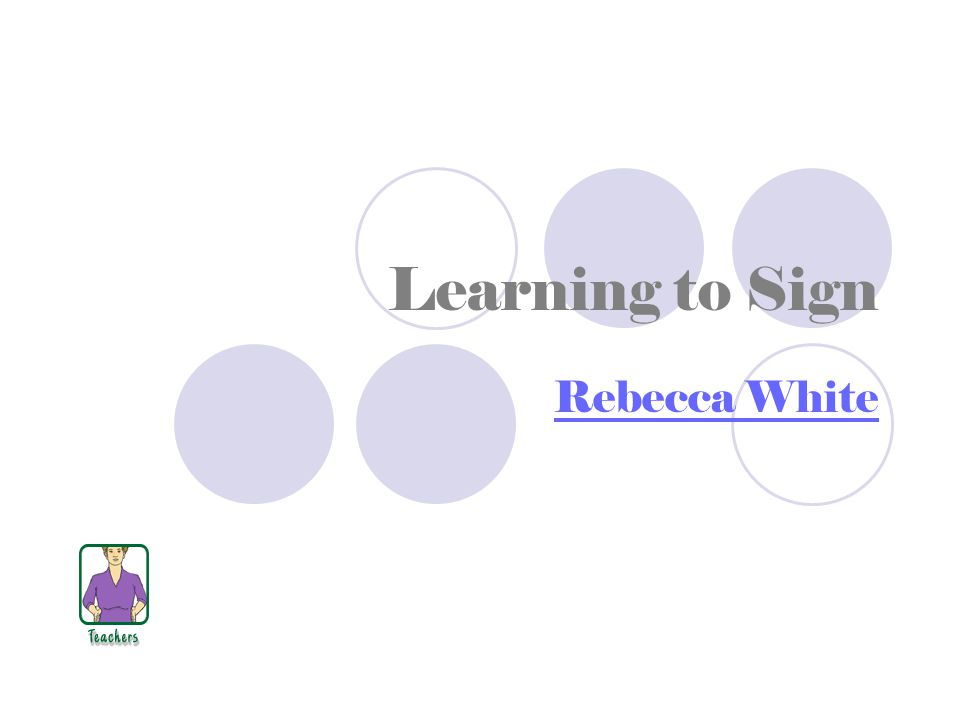 Signing Naturally This product helps those special education teachers who would like to learn to sign.