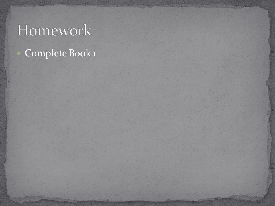Complete Book 1