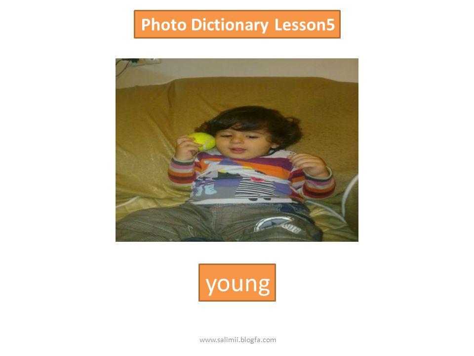 Photo Dictionary Lesson5 tall short www.salimii.blogfa.com