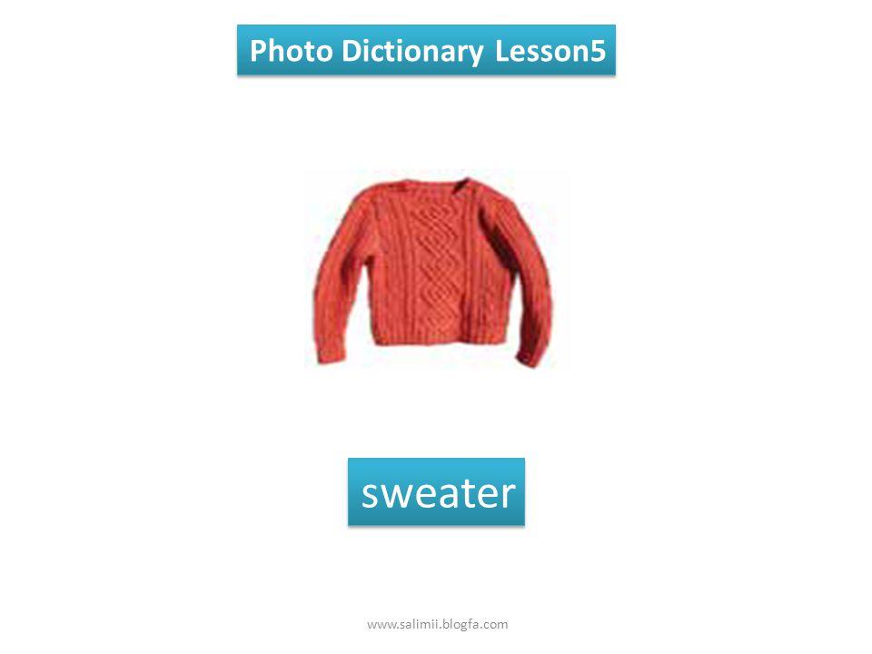 Photo Dictionary Lesson5 coat www.salimii.blogfa.com
