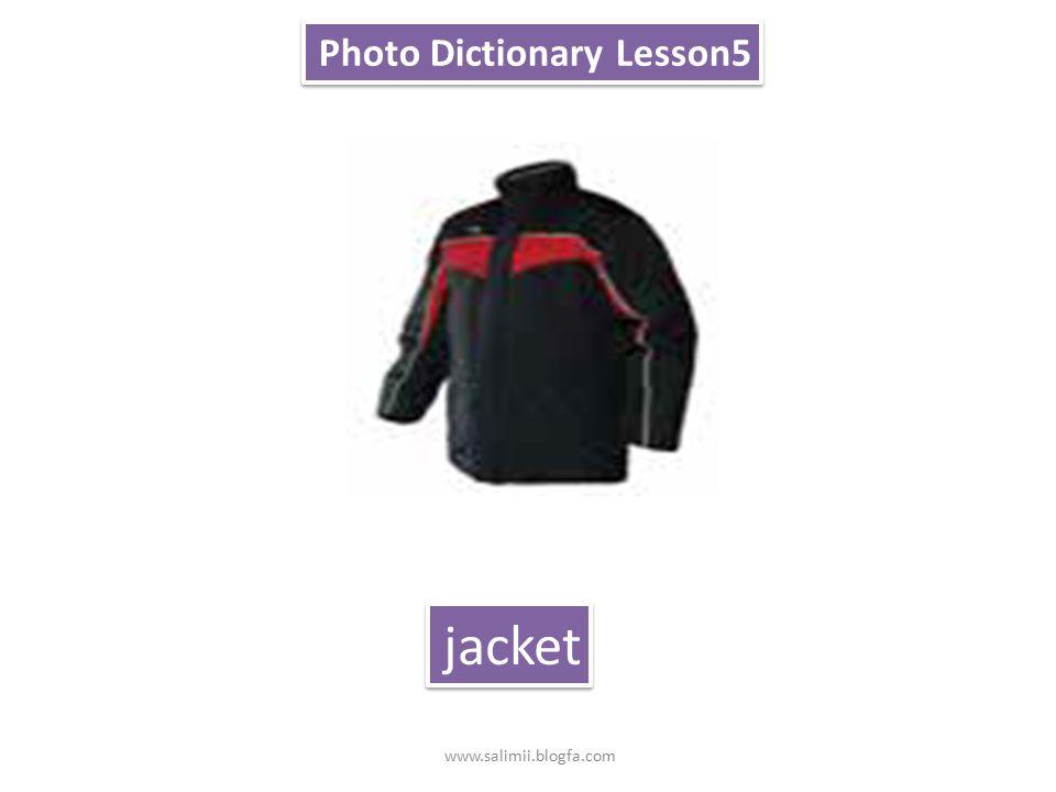 Photo Dictionary Lesson5 manteau www.salimii.blogfa.com