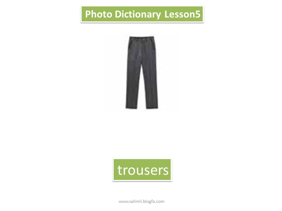 Photo Dictionary Lesson5 jacket www.salimii.blogfa.com