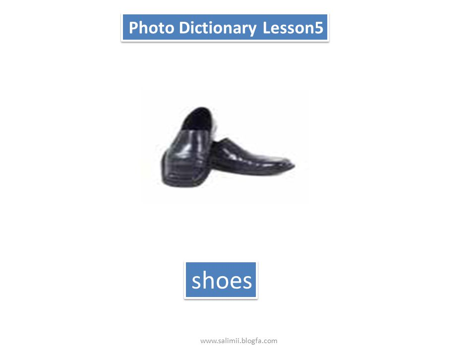 Photo Dictionary Lesson5 T-shirt www.salimii.blogfa.com
