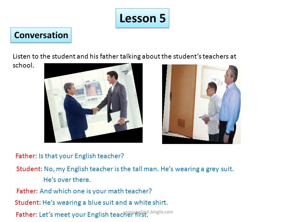 Lesson 5 My Appearance L L D D R R www.salimii.blogfa.com
