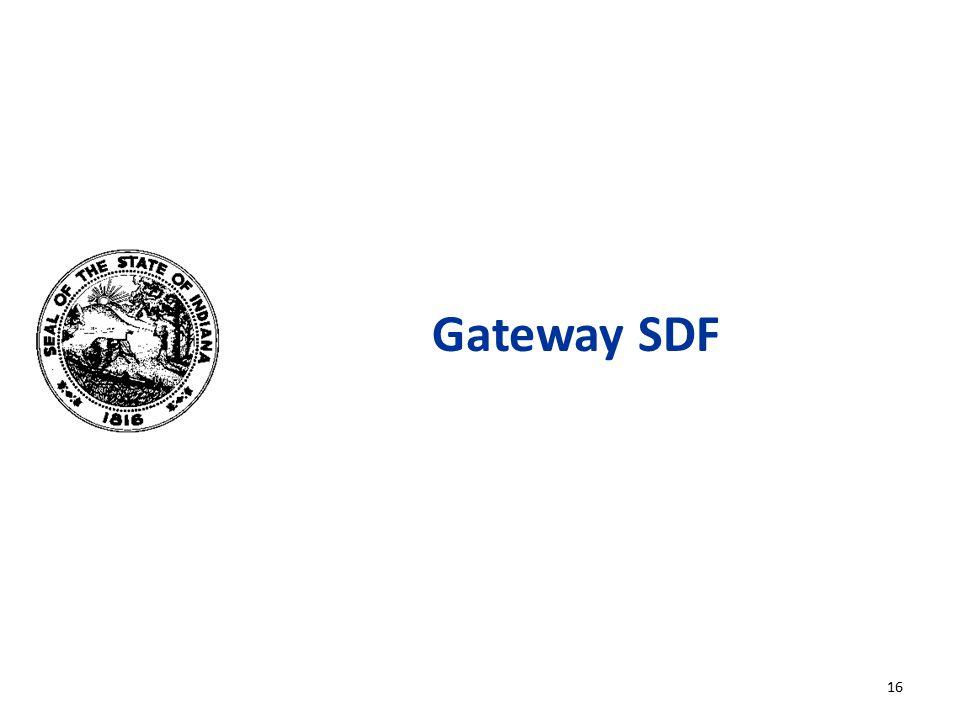 Gateway SDF 16