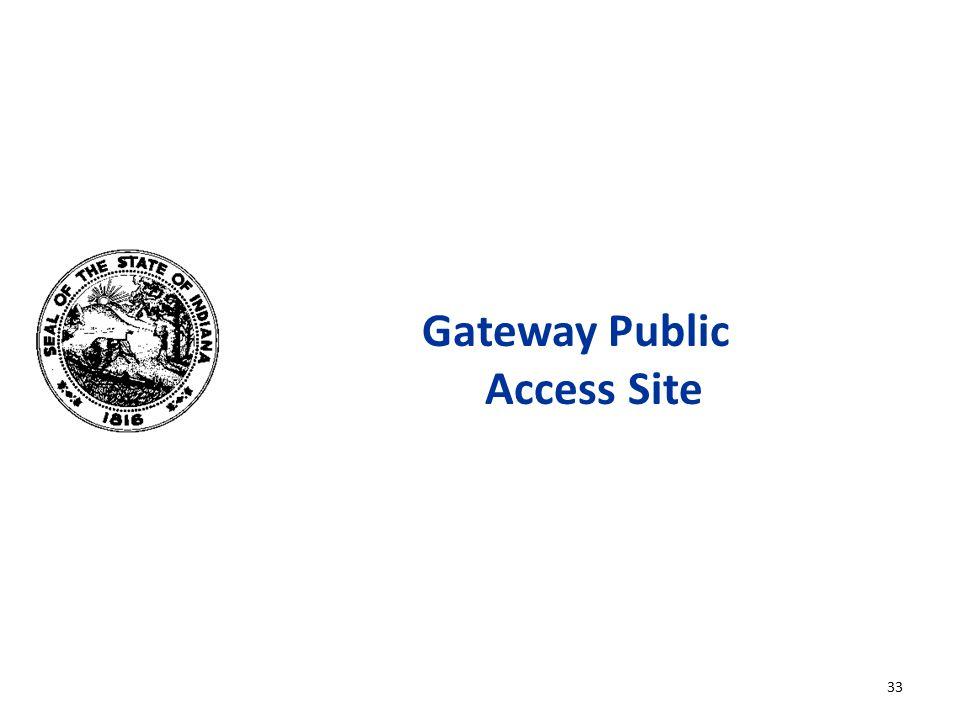 Gateway Public Access Site 33