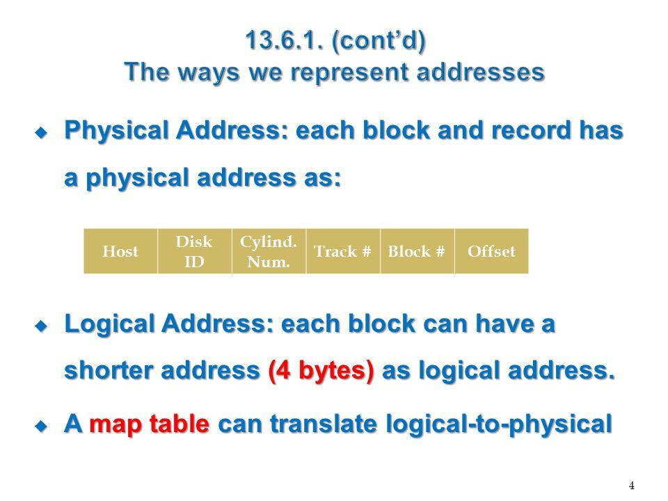 5 LogicalPhysical Logical address Physical address