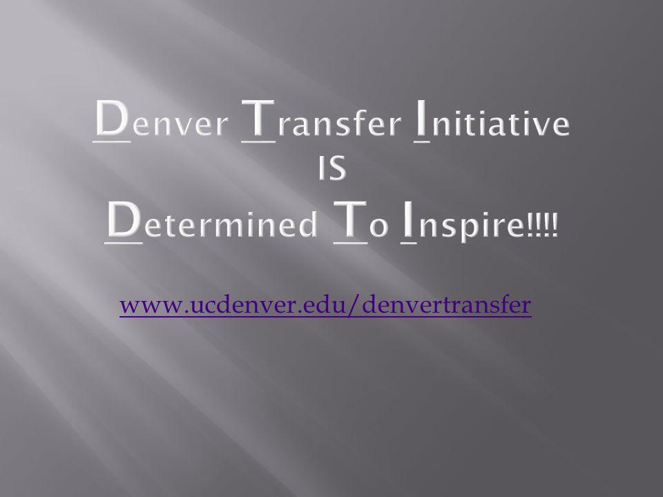www.ucdenver.edu/denvertransfer
