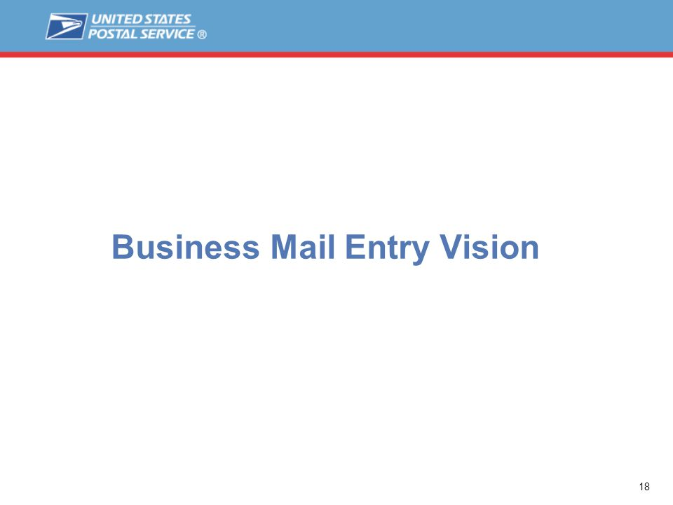 18 Business Mail Entry Vision