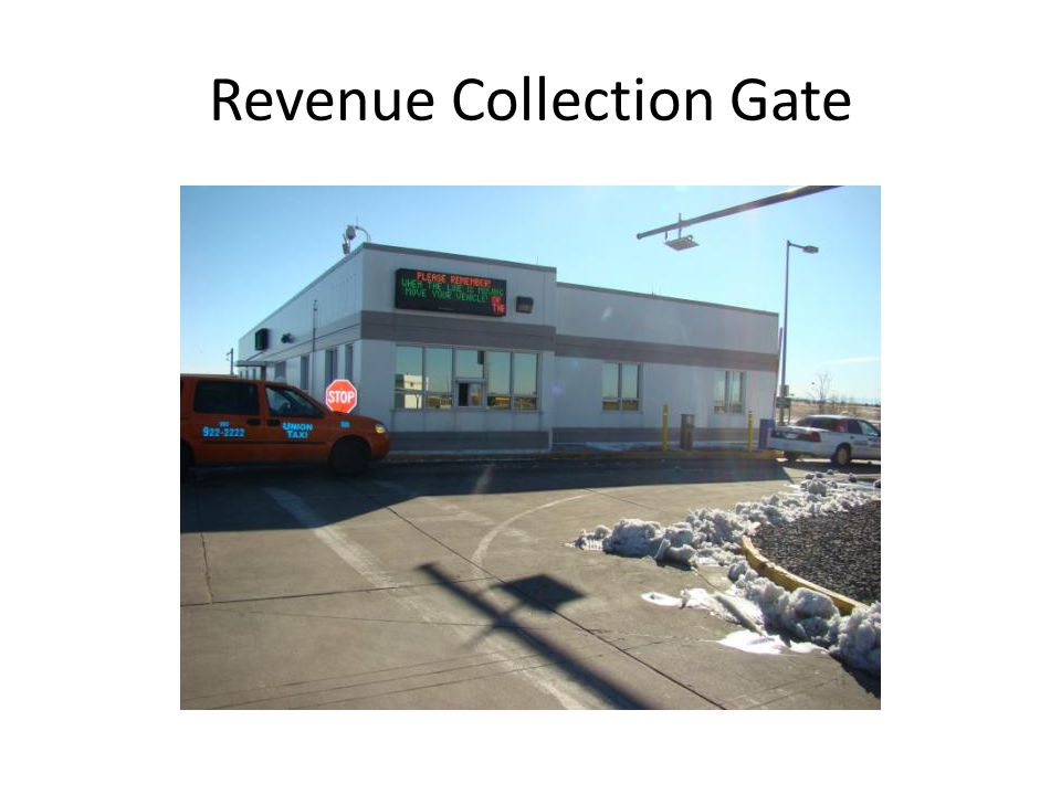Revenue Collection Gate