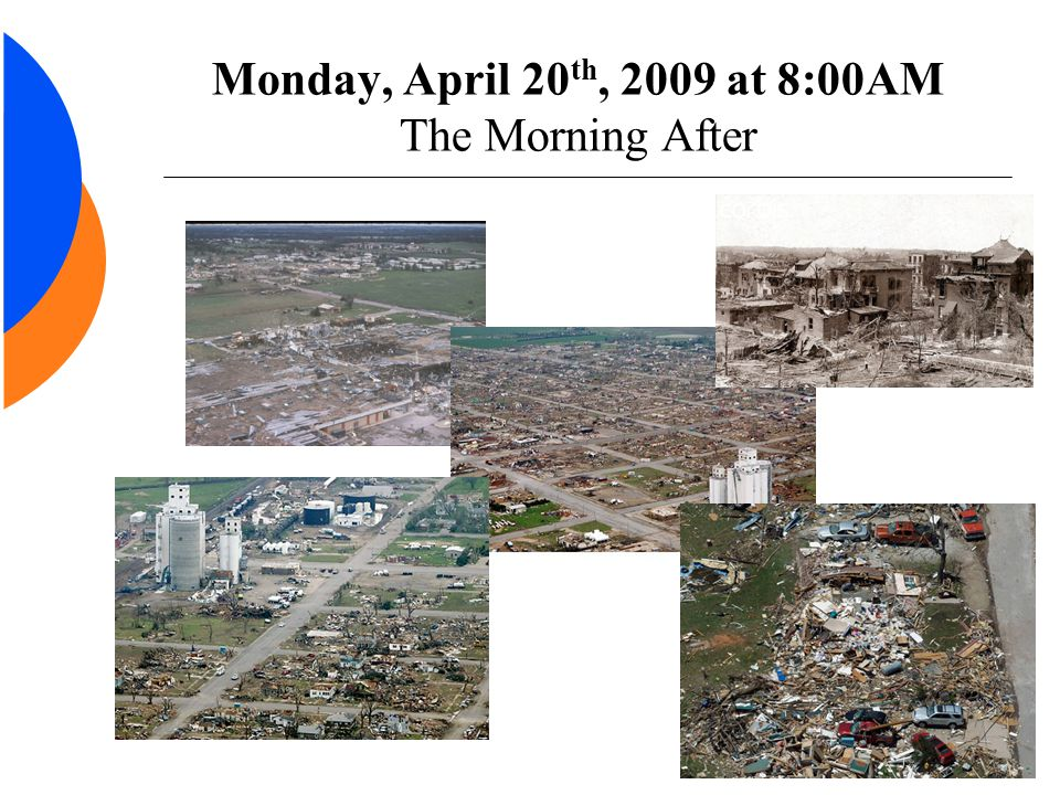 Monday, April 20 th, 2009 at 8:00AM The Morning After