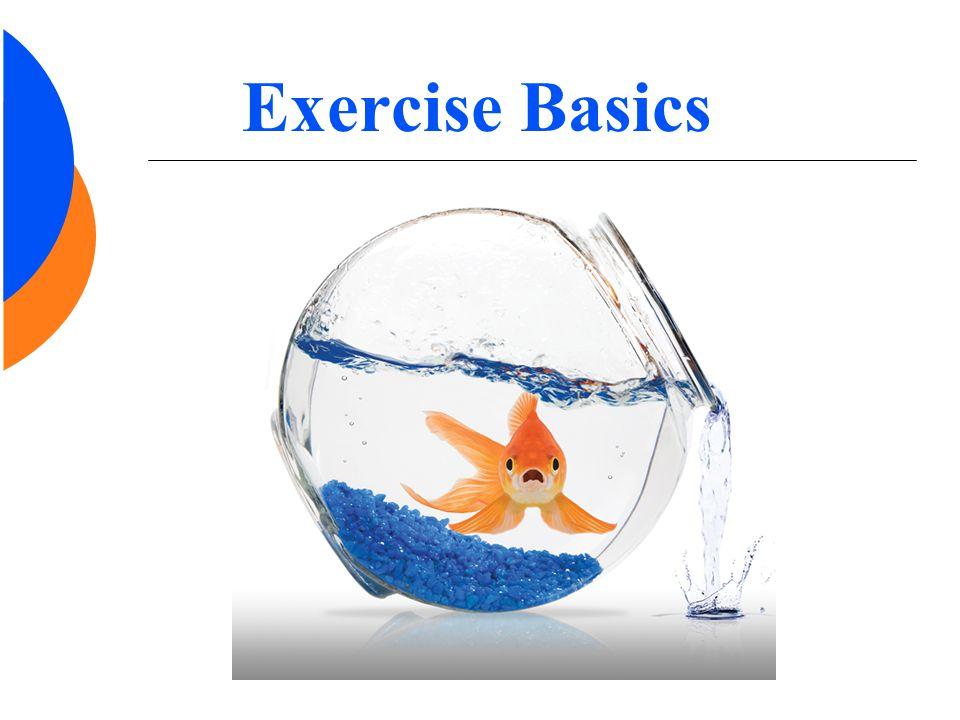 Exercise Basics