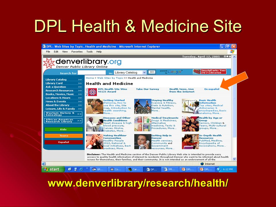 www.denverlibrary/research/health/