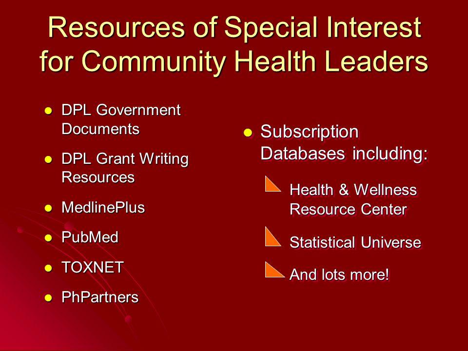 DPL Salud y Medicina Page http://espanol.denverlibrary.org/health/