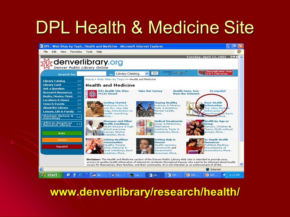 www.denverlibrary/research/health/