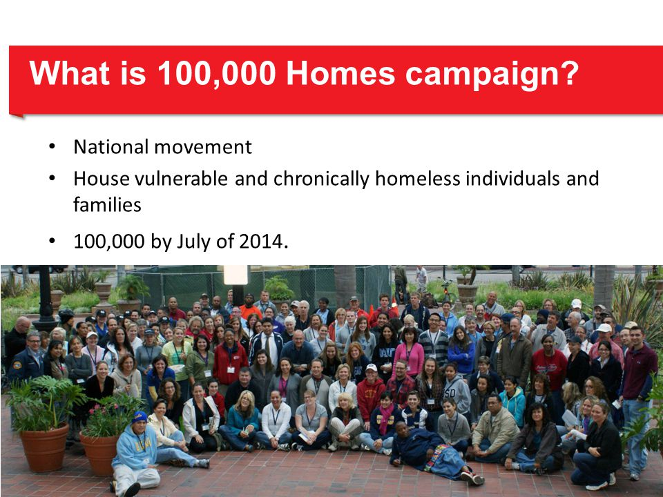 What is 100,000 Homes campaign.