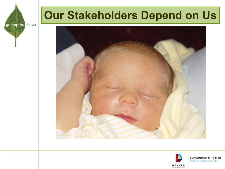 Our Stakeholders Depend on Us