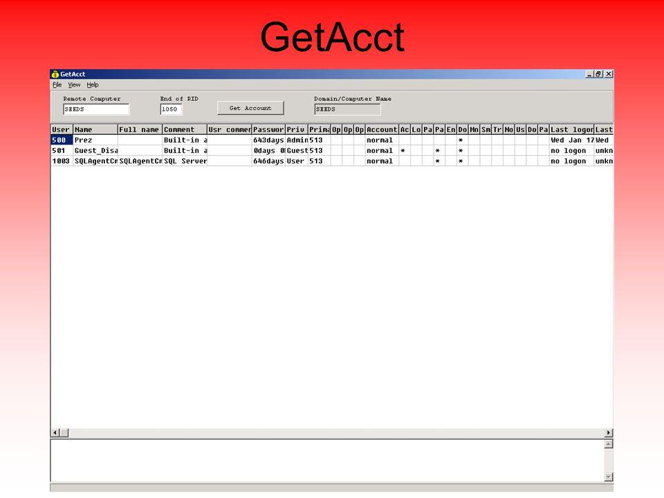 GetAcct
