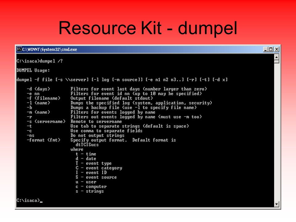 Resource Kit - dumpel